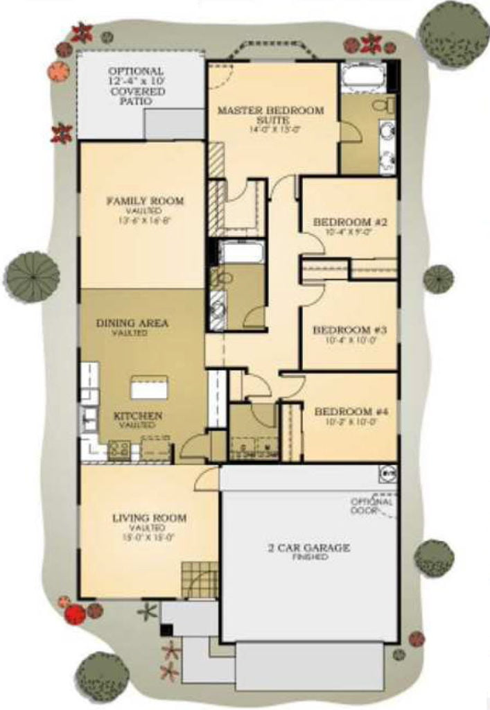 Plan 1717 Copper Canyon by Providence Homes